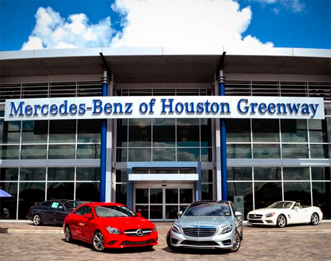 Image gallery mercedes benz houston for Mercedes benz dealers houston